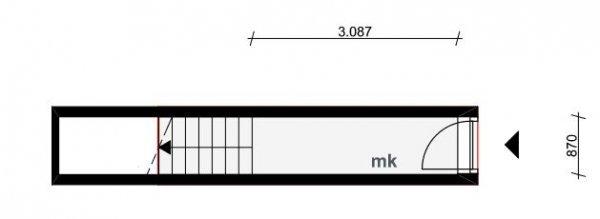 Verschoorstraat 68A-01-1, Rotterdam